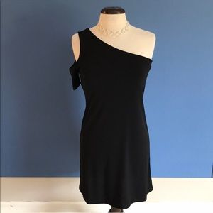 Boston Proper One Shoulder Dress
